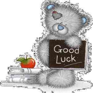 Good Luck to All SPM Candidates 2013